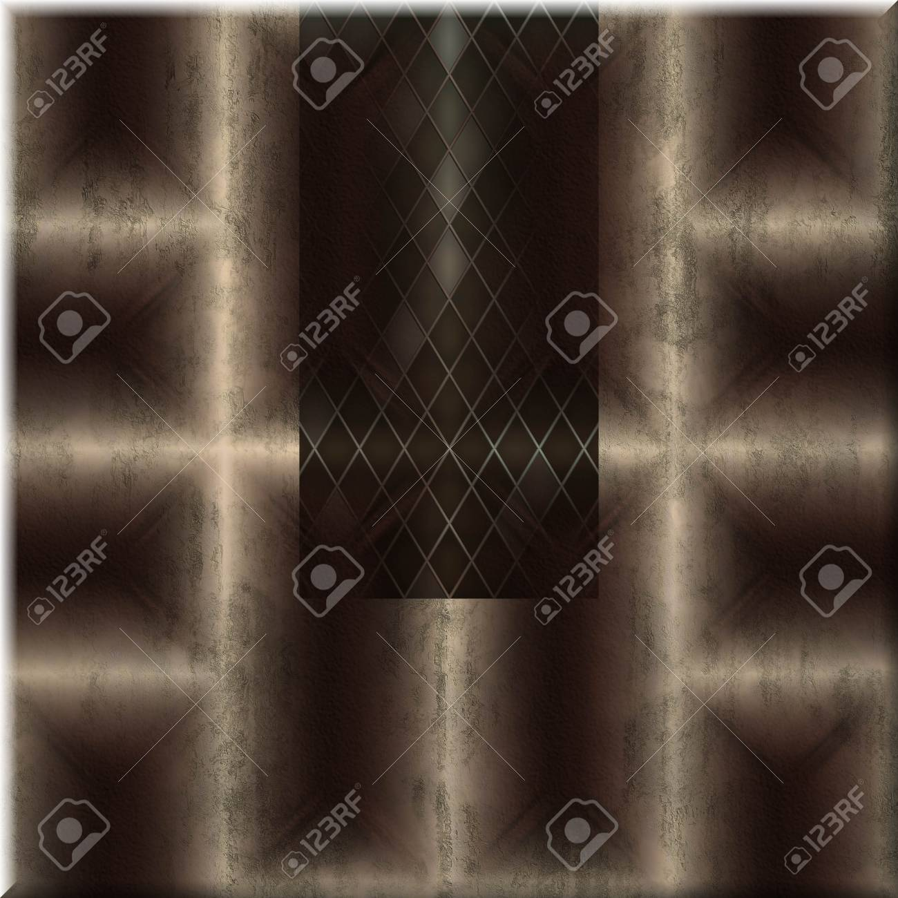 Ornate seamless texture in a square tile Stock Photo - 16237005
