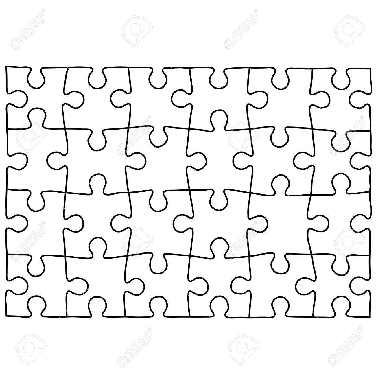 Gemütlich Leere Puzzle Vorlage Bilder - Beispielzusammenfassung ...