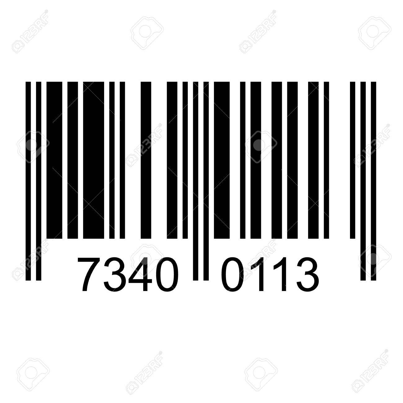 Numbers Fake Illustration Image Free Stock With Vectors And Bar Code Royalty Cliparts 30877084