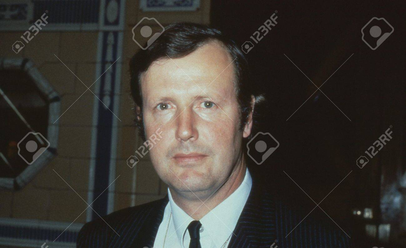 Blackpool, England - October 10, 1989 - Humfrey Malins, Conservative party Member of Parliament for Croydon North West, attends the party conference.  Stock Photo - 16532336