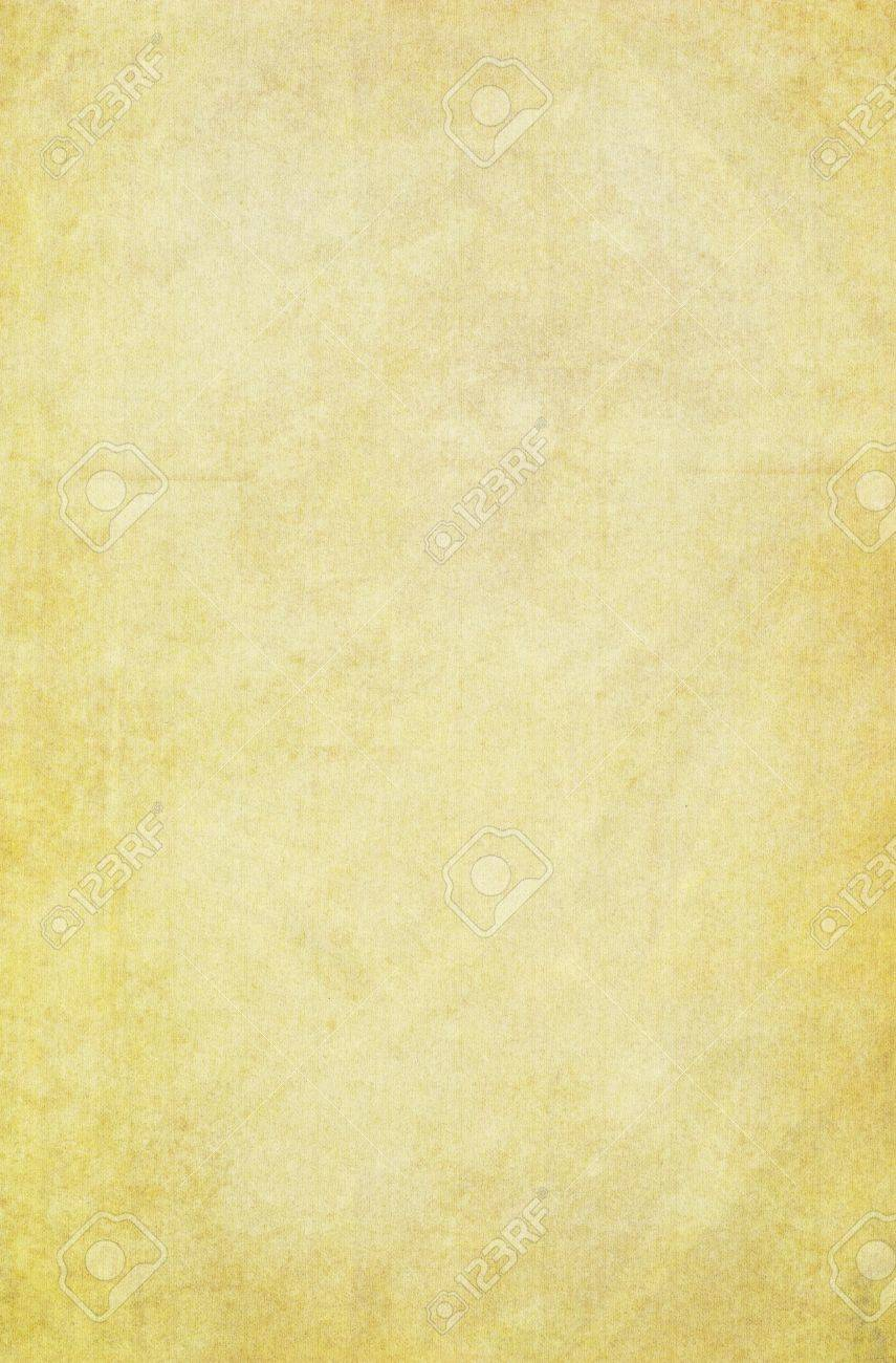 yellow vintage paper background with detailed texture. stock photo