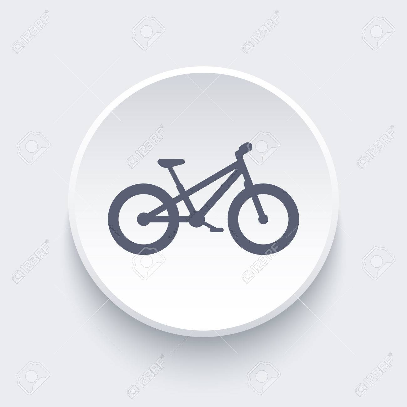 Fat Bike Bicycle Offroad Bike Fat Bike Round Icon Illustration Royalty Free Cliparts Vetores E Ilustracoes Stock Image 57679515