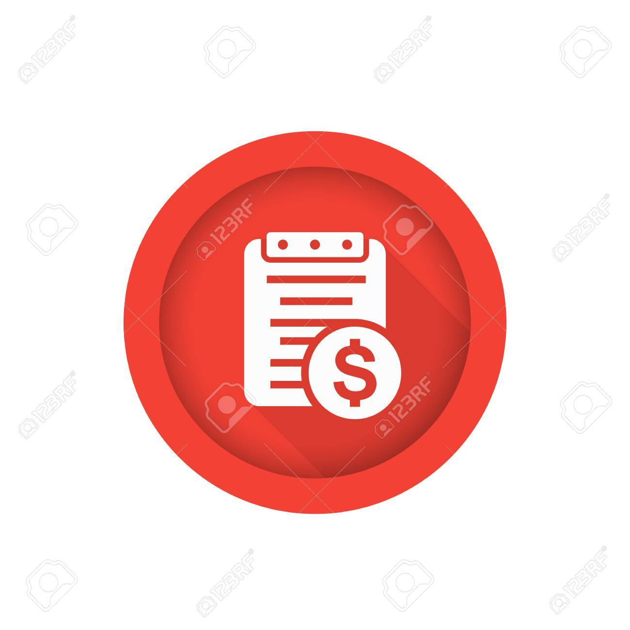 Payroll icon isolated on white