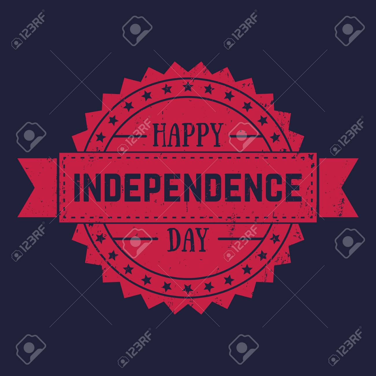 American independence day fourth of july greetings fourth of american independence day fourth of july greetings fourth of july patriotic badge stock m4hsunfo