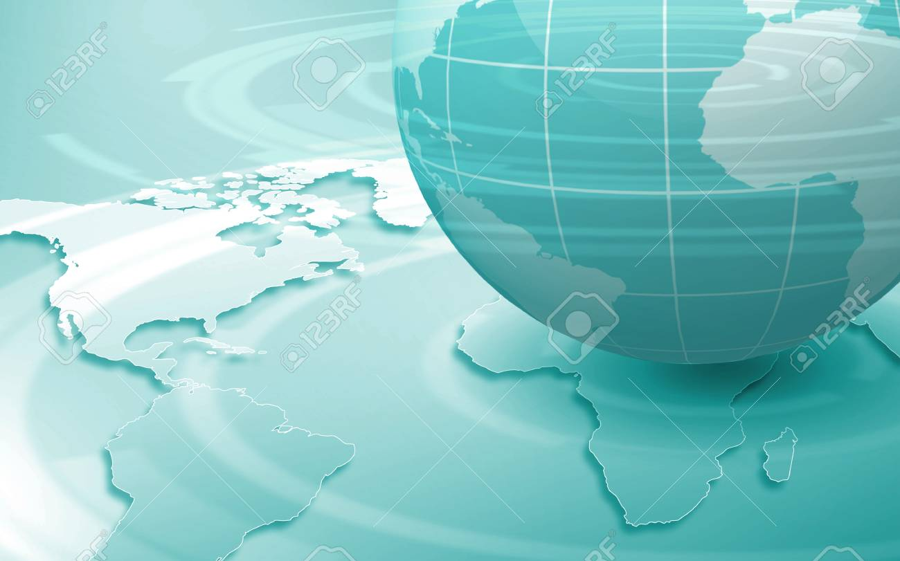 Image of our planet as symbol of social networking Stock Photo - 15850791