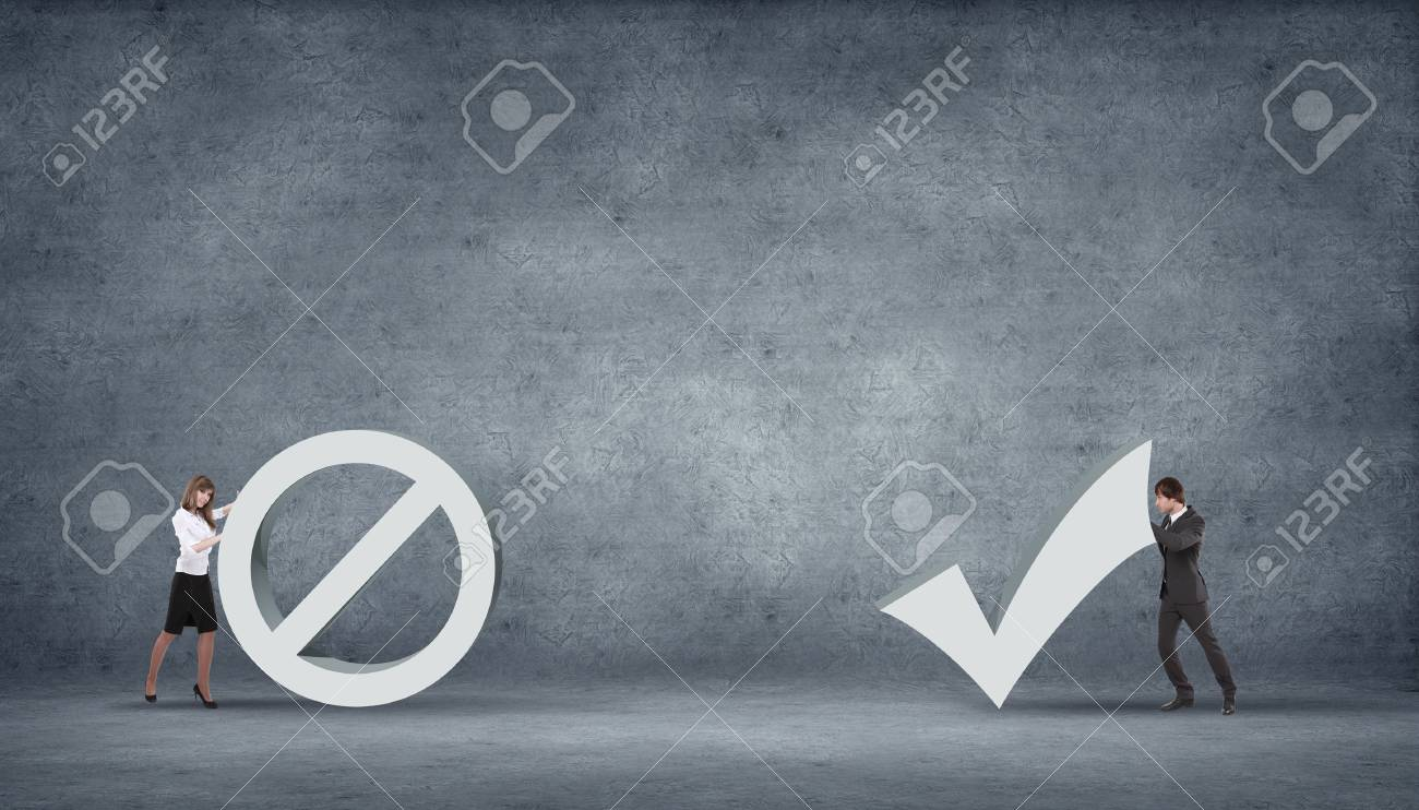 illustration of set of hazardous symbol on grey background Stock Photo - 16142401