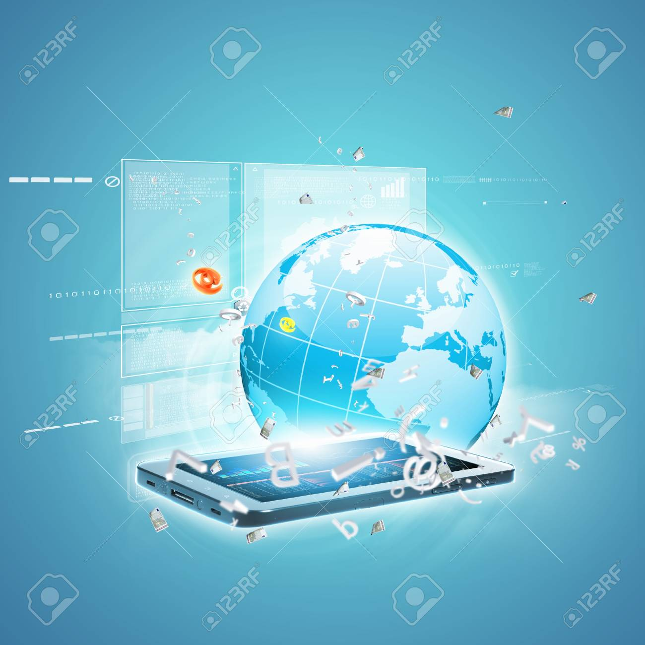 Best Internet Concept of global business from concepts series Stock Photo - 16600313