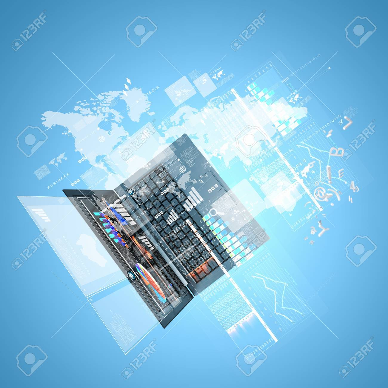 Best Internet Concept of global business from concepts series Stock Photo - 16696849
