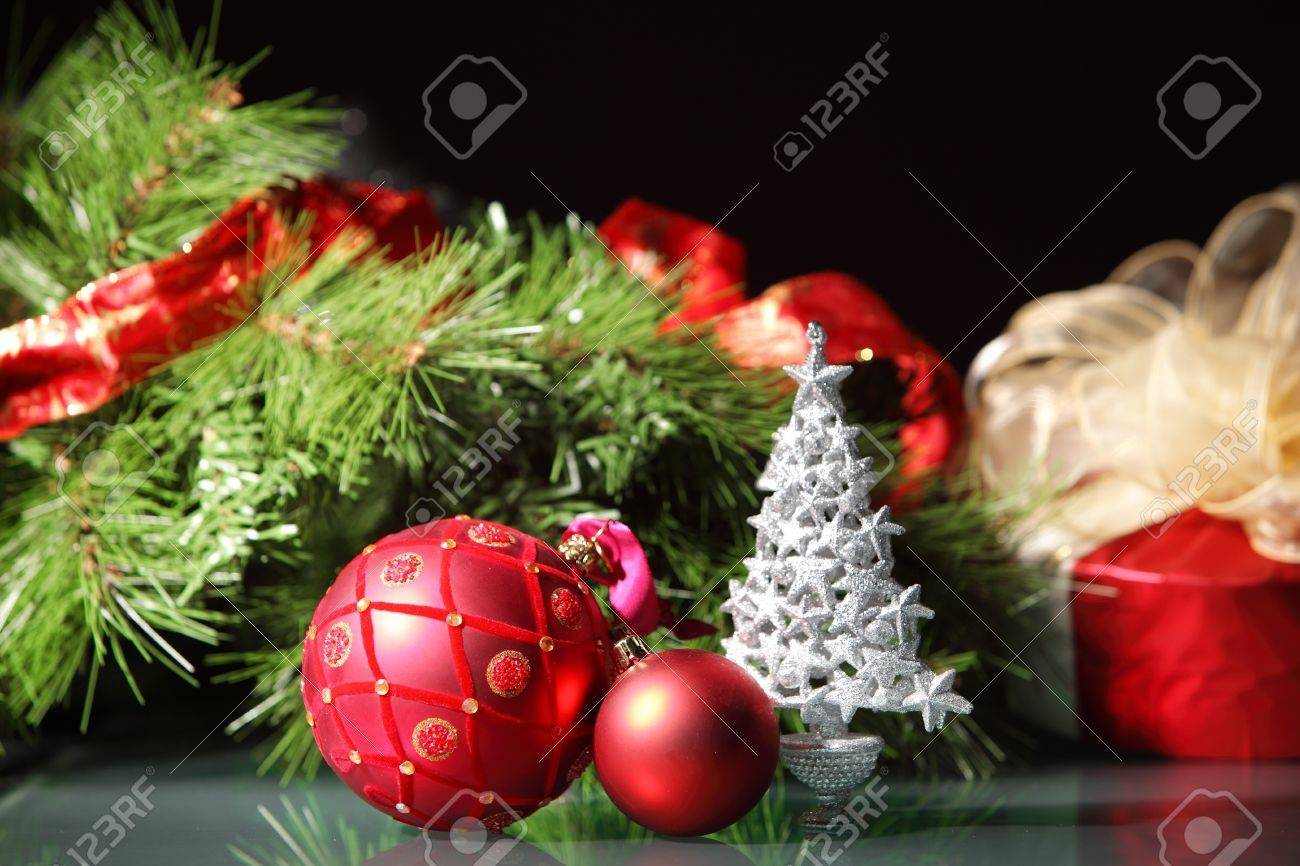 beautiful christmas decorations for a christmas tree stock photo 16697052 beautiful christmas decorations