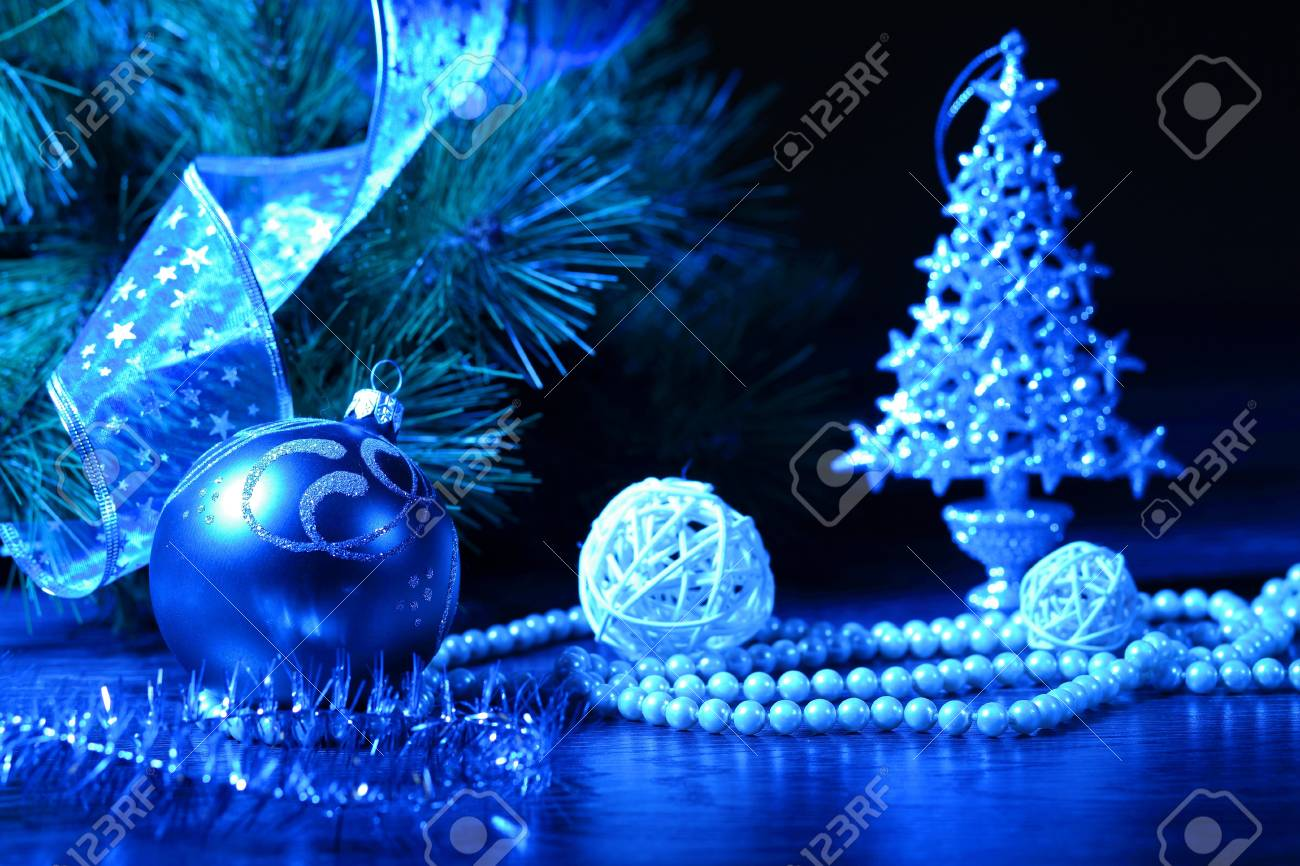 beautiful christmas decorations. Beautiful Christmas Decorations For A Tree Stock Photo - 16696841