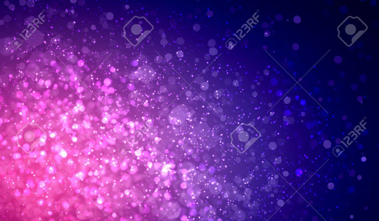 Purple colour bokeh abstract light background  Illustration Stock Illustration - 16982186