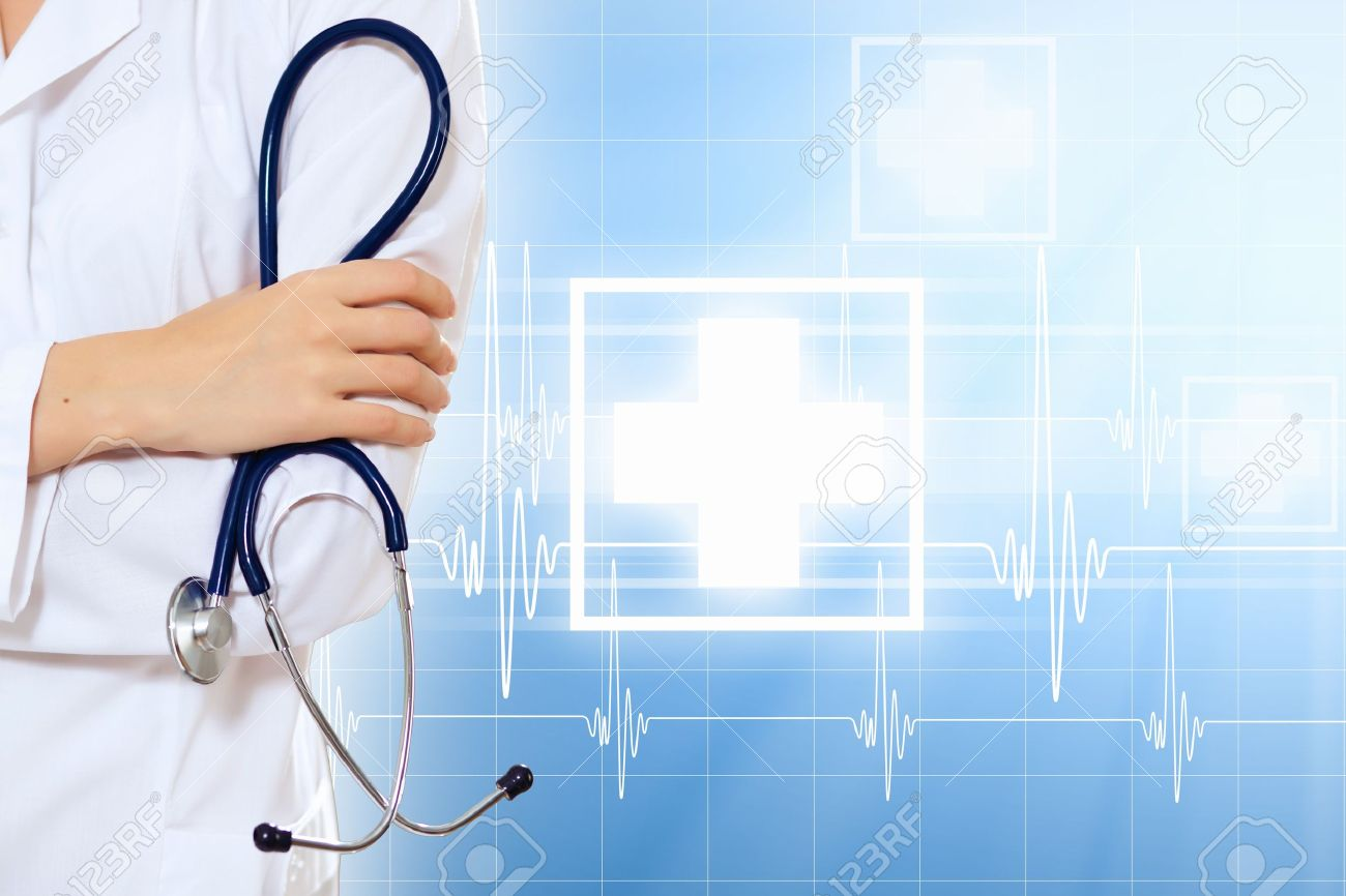 Doctor Background medical background having