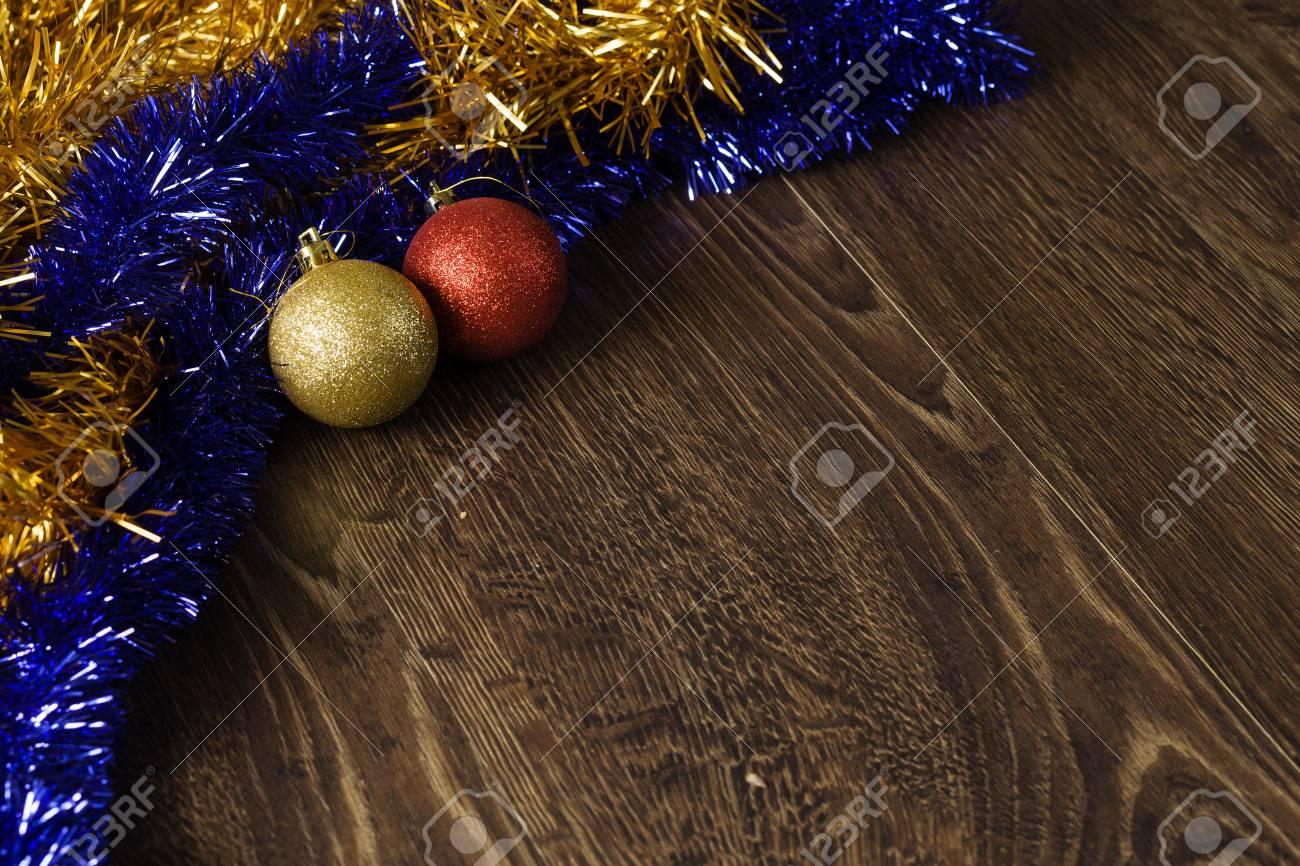 Weihnachtsbilder Mit Kugeln.Stock Photo