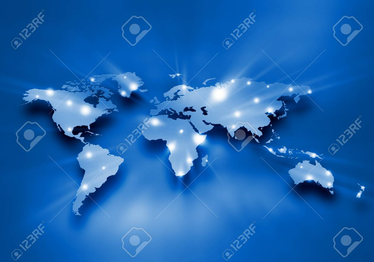 Background digital image of world map with connection lines fotos background digital image of world map with connection lines foto de archivo 31398179 gumiabroncs Gallery
