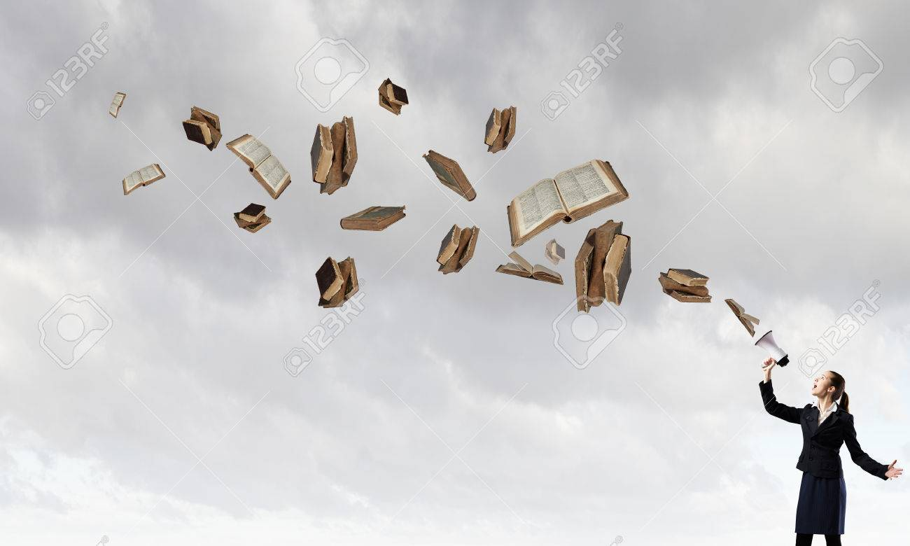 livre qui vole