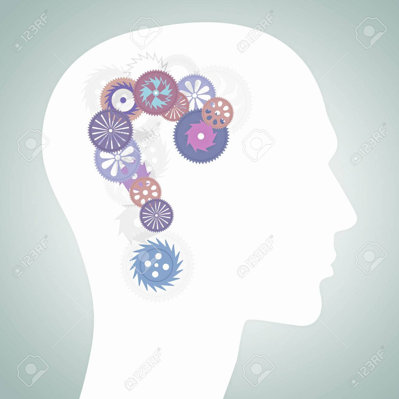 Human head with gears as symbol of thinking process fotos human head with gears as symbol of thinking process foto de archivo 56286127 biocorpaavc