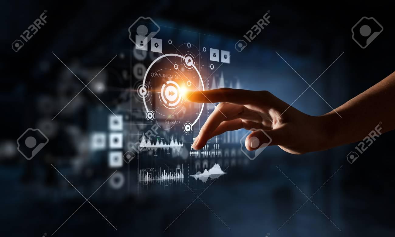 Creating innovative technologies. Mixed media - 88338881