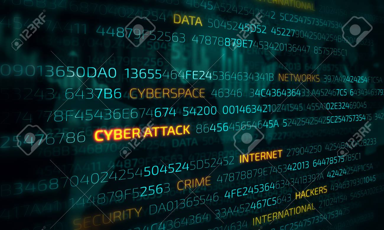Computer hacking concept - 110366554