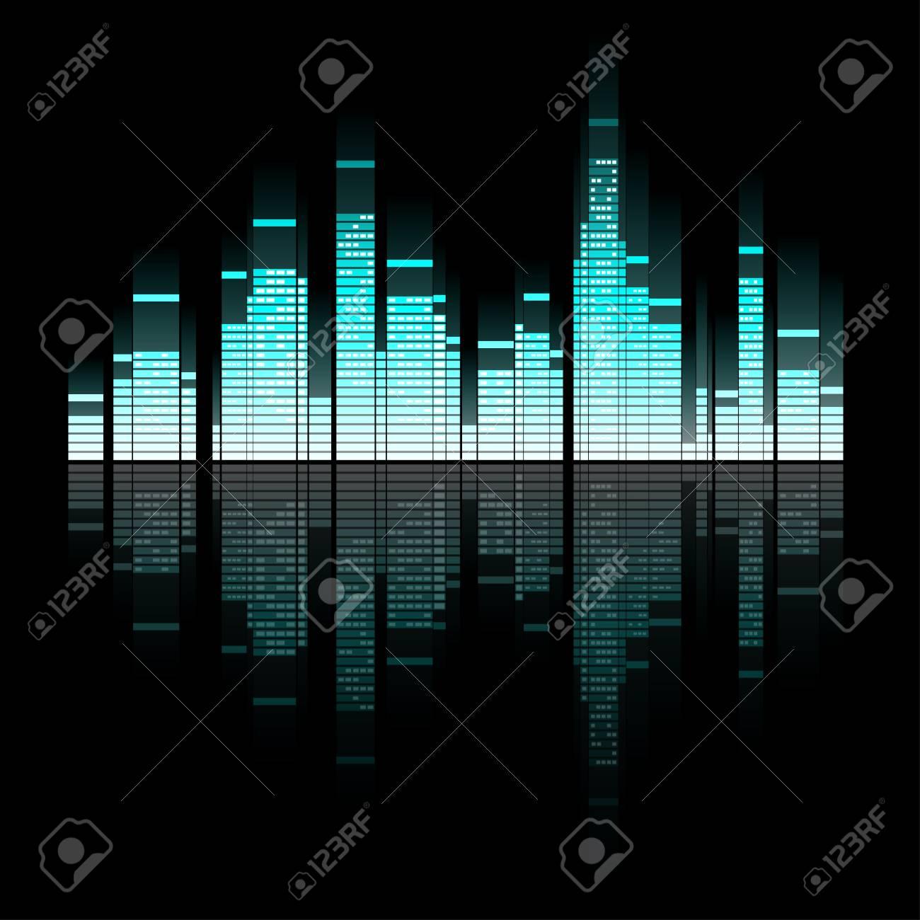 Illustration of sounding town Stock Vector - 17314687