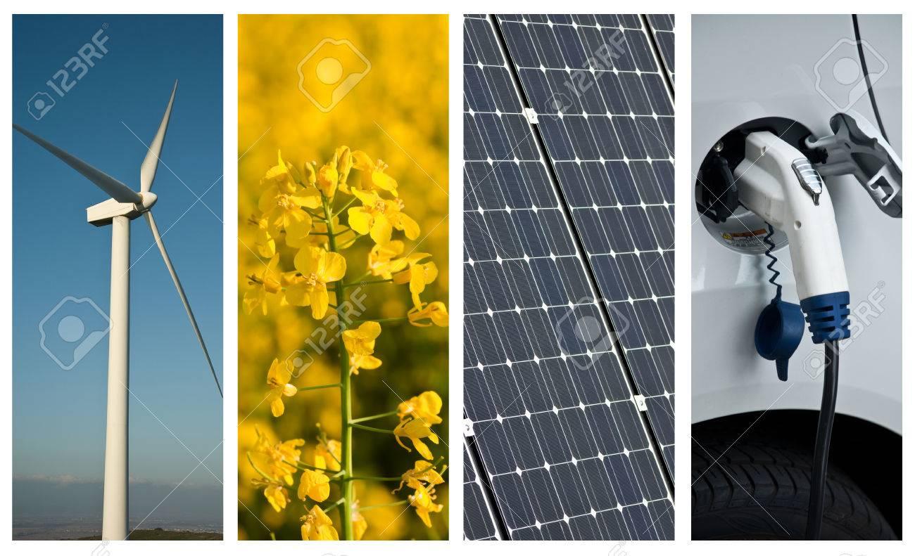sustainable development collage - 38916575