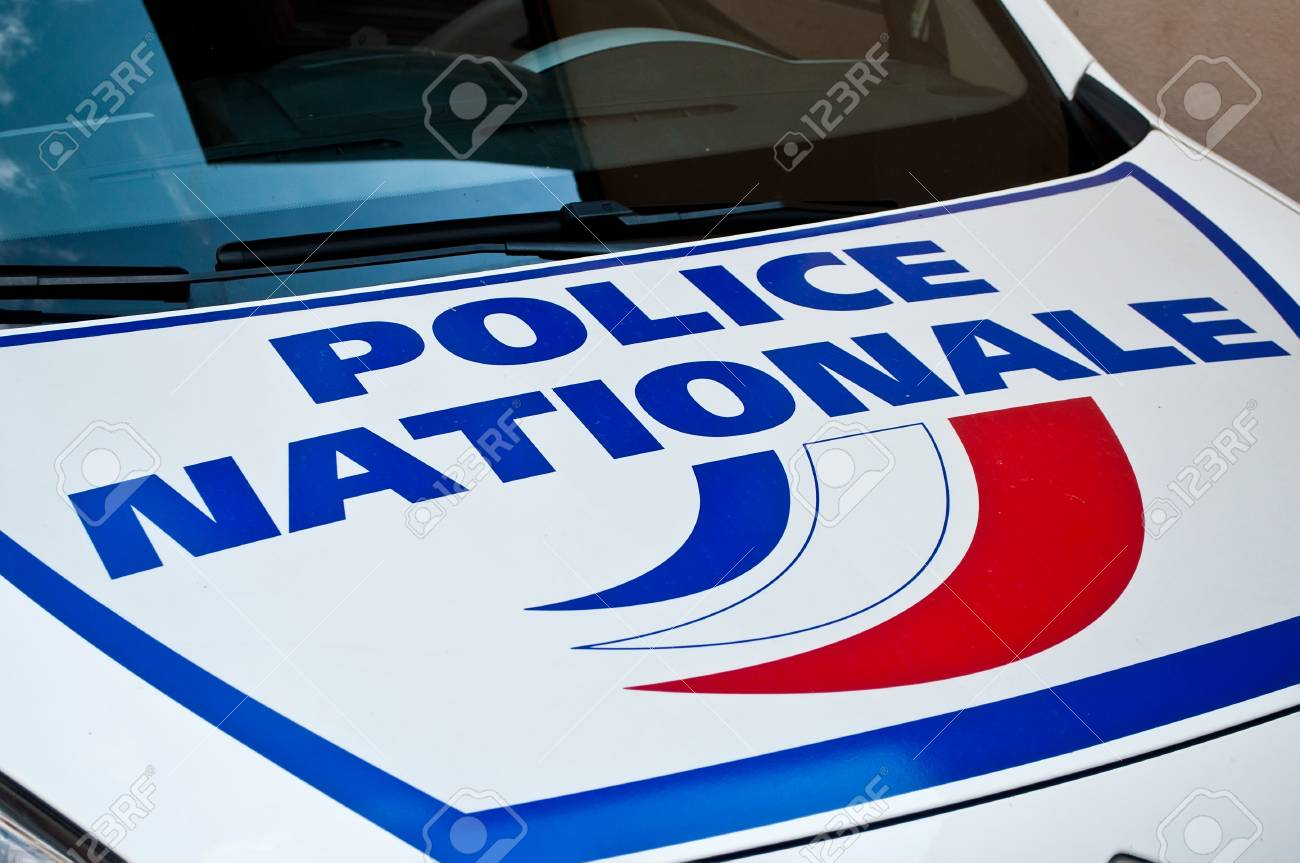 french car of police - 44048622
