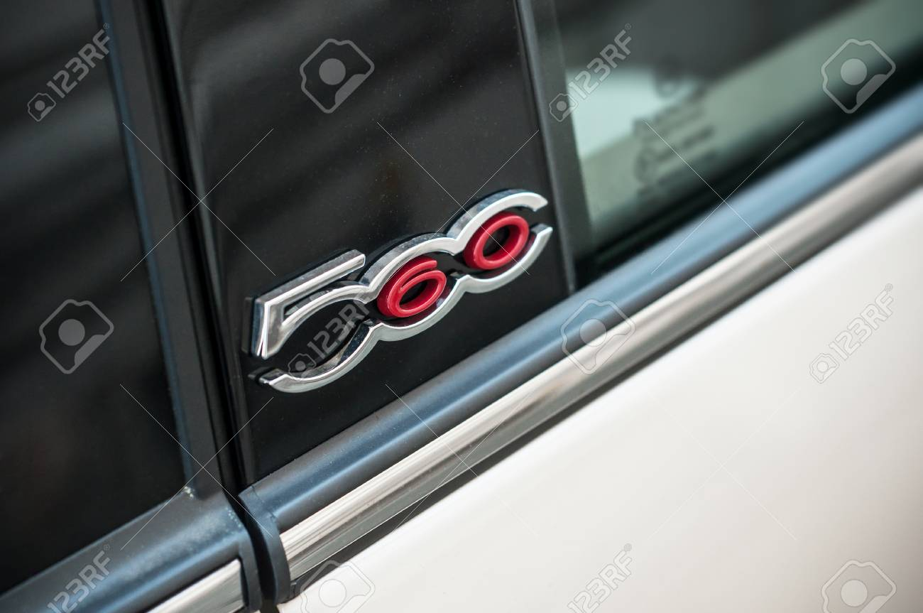 Mulhouse France 6 April 2018 Retail Of Fiat 500 Logo On Stock Photo Picture And Royalty Free Image Image 104638792