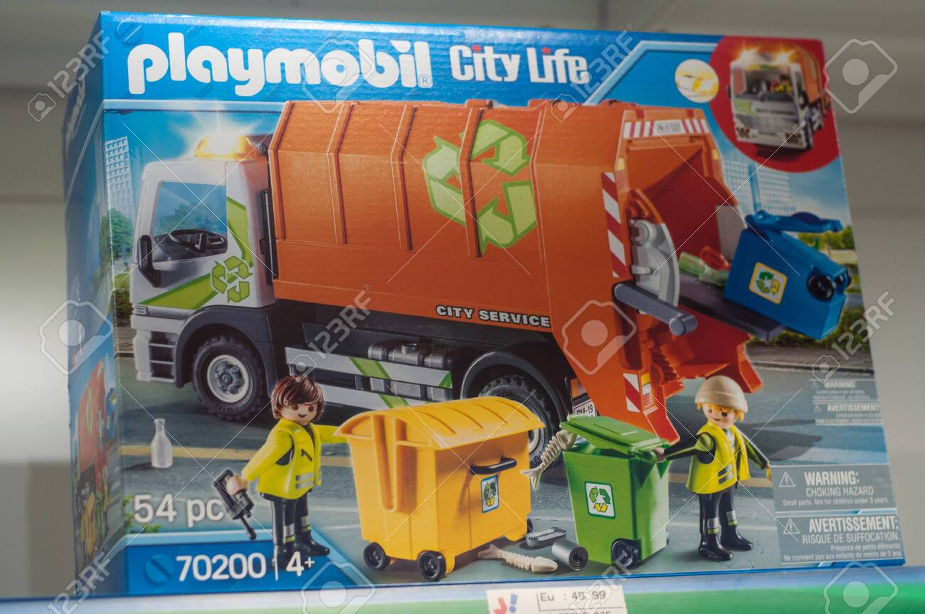 Mulhouse - France - 7 December 2019 - Closeup Of Playmobil Toys.. Stock  Photo, Picture And Royalty Free Image. Image 136347417.