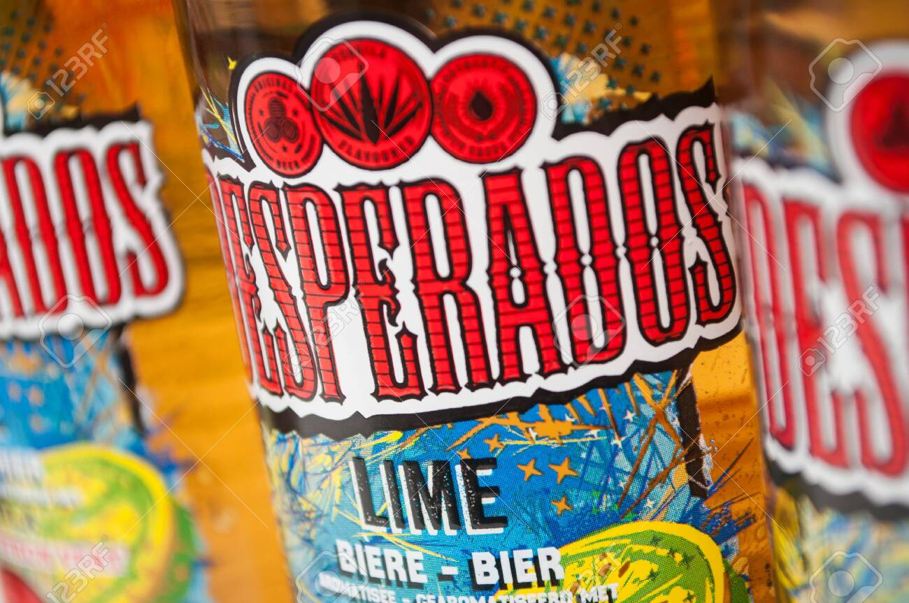 Mulhouse France 2 March 2020 Closeup Of Desperados Bier Stock Photo Picture And Royalty Free Image Image 142485199