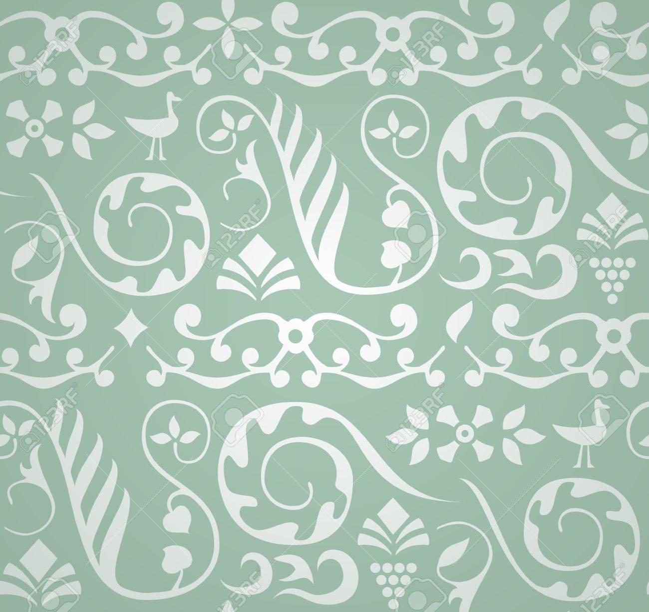 Decorative Pattern Stock Vector - 12473505