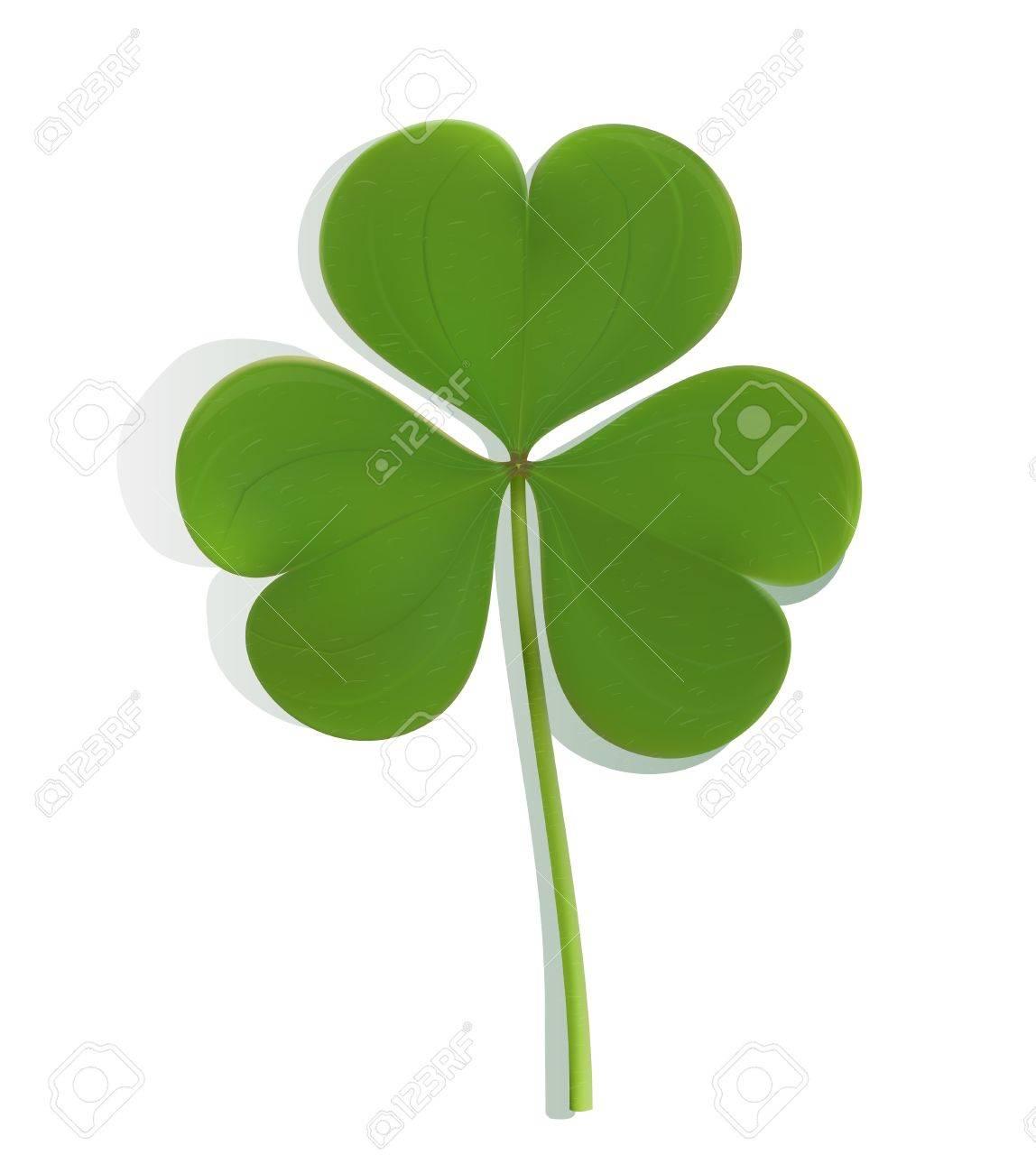 green clover Stock Vector - 12473510
