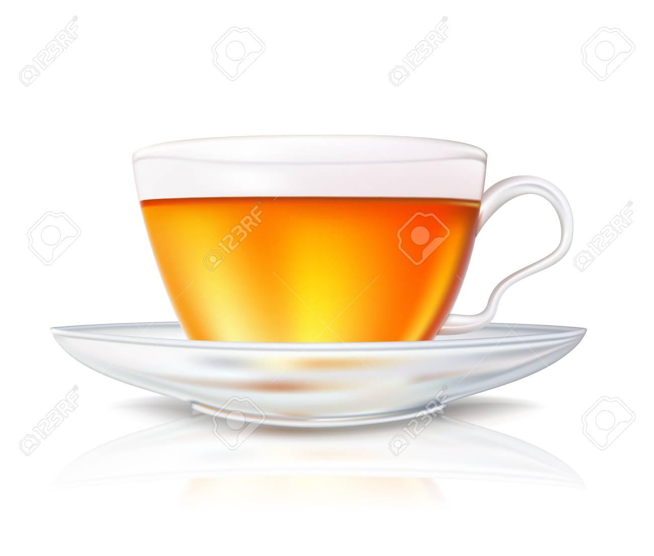 cup of tea Stock Vector - 12473528