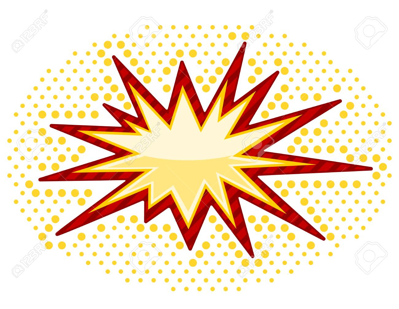 Vector Bursting icon isolated on white background Stock Vector - 22787260