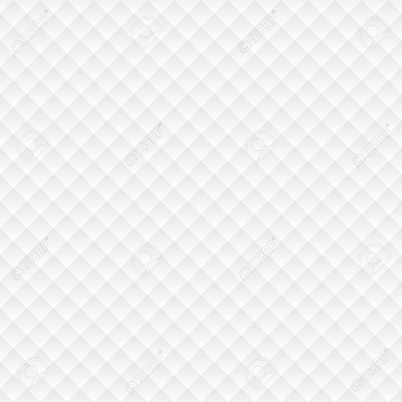 Rhombus Seamless White Background Simple Pattern For Web