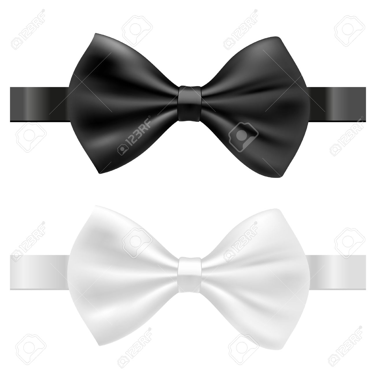 Bowtie Vector black and white bow tie vector