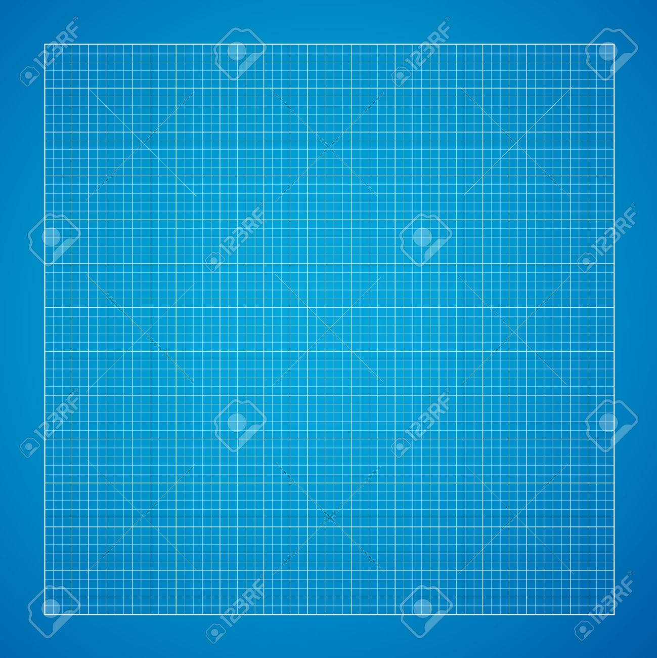 Vector blueprint background white grid on blue paper royalty free vector vector blueprint background white grid on blue paper malvernweather Gallery