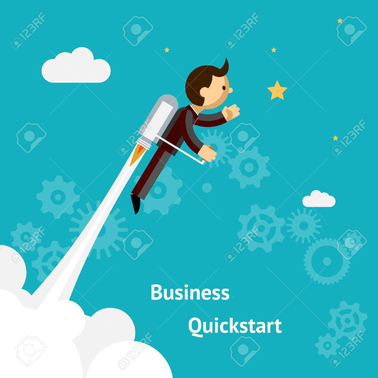 Cartoon Design for Business Growth and Start up - 31062189