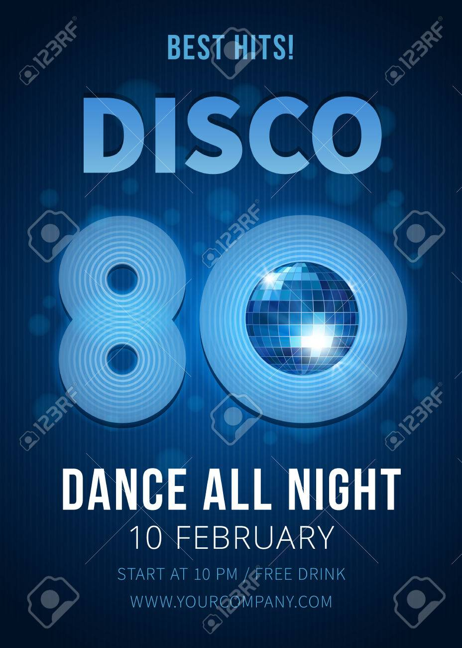 Disco party  Best hits of the 80s