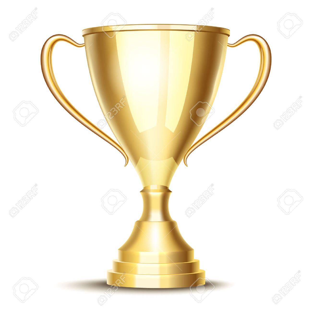 Vecteur Gagnant Trophée De La Coupe Clip Art Libres De Droits , Vecteurs Et  Illustration. Image 40787347.