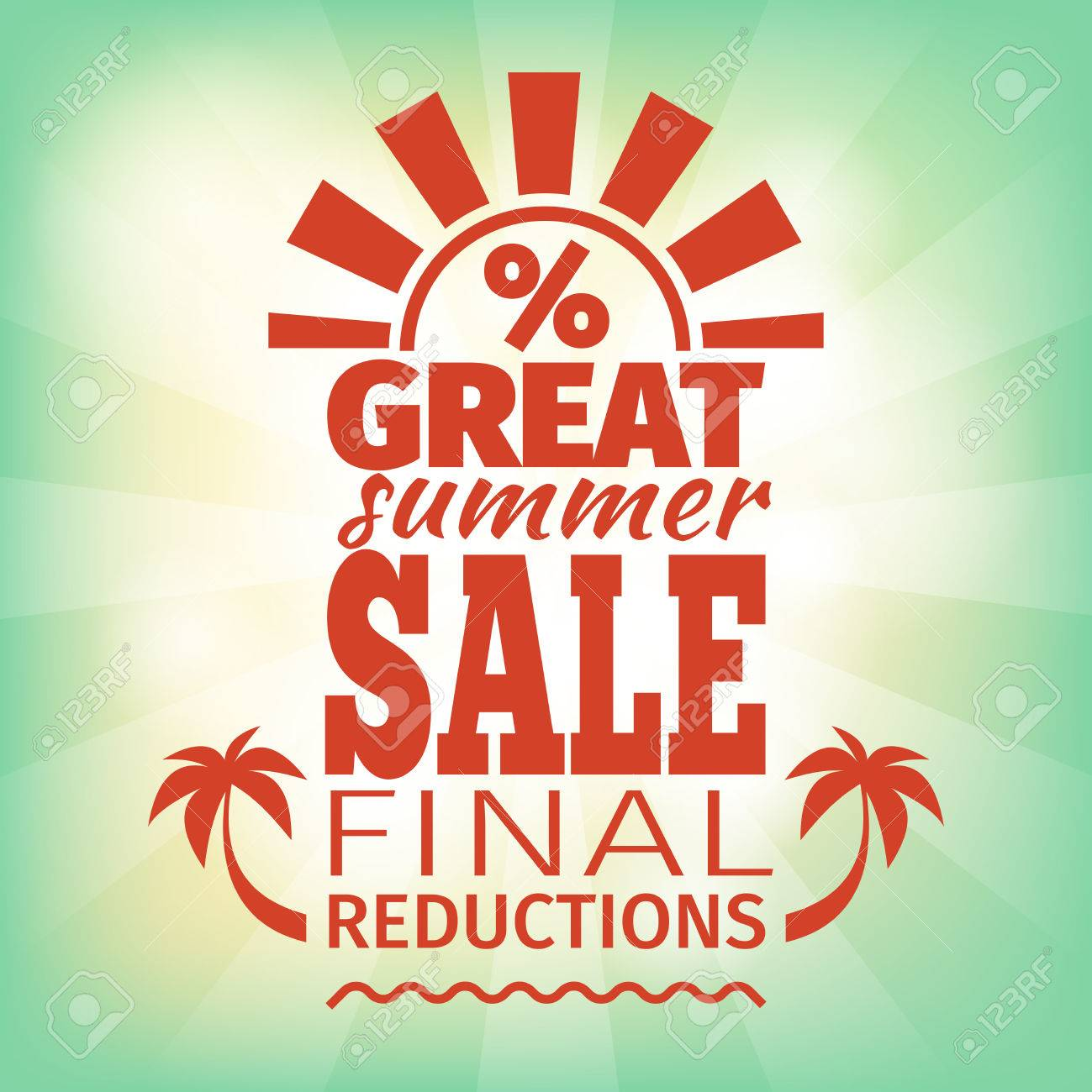 summer poster template vintage advertisement for the final summer poster template vintage advertisement for the final selling stock vector 42362351