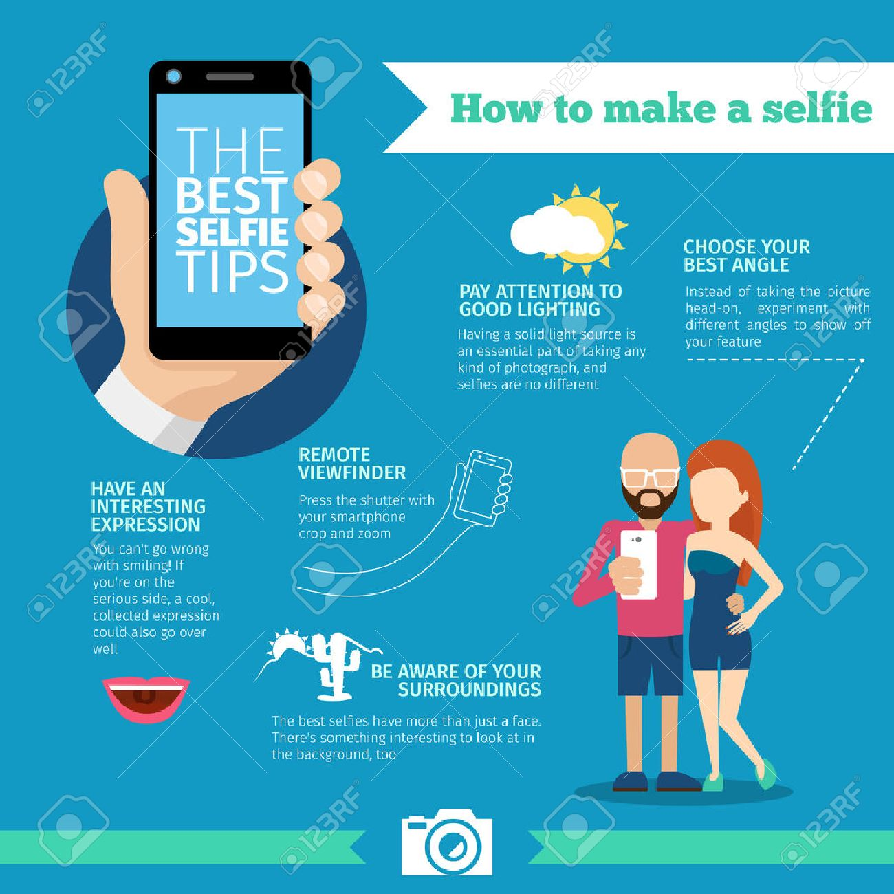 How To Make A Selfiegraphic Phone And Photo,