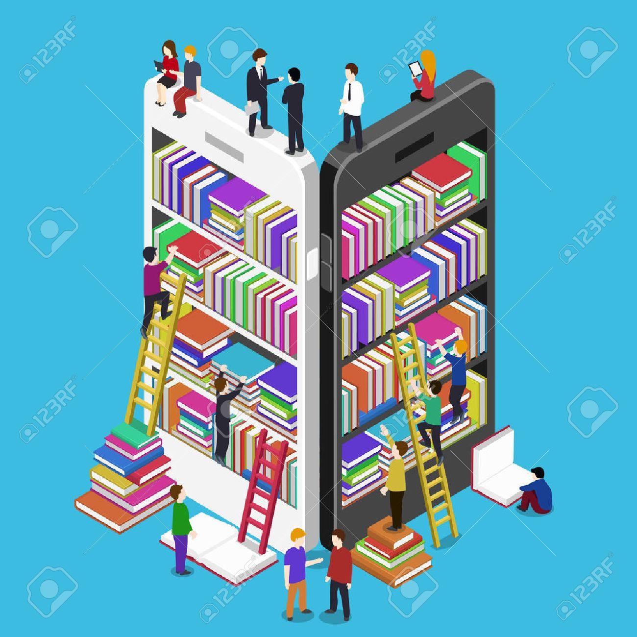 Библиотека книг для мобильного