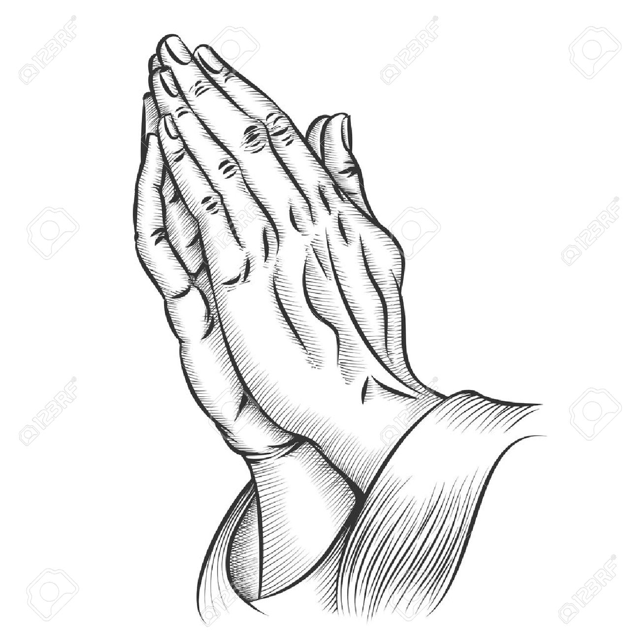 Praying hands religion and holy catholic or christian religion and holy catholic or christian spirituality belief and hope vector buycottarizona