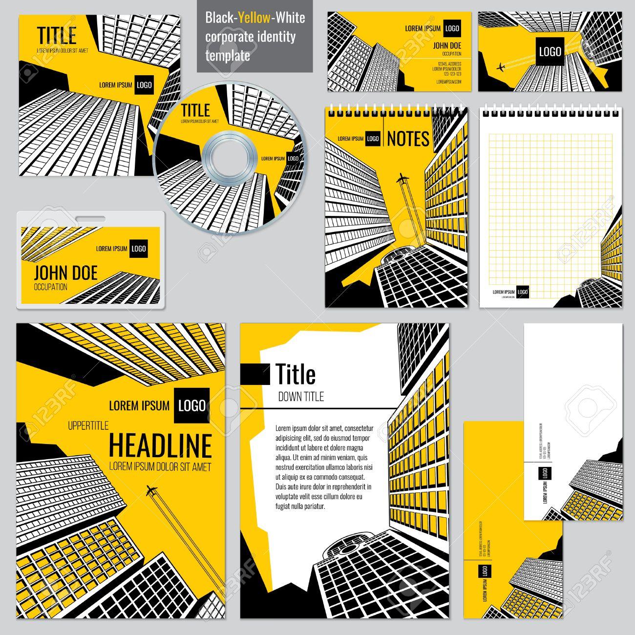 Architekturbüro Corporate Business-Design. Überschrift Und Titel ...