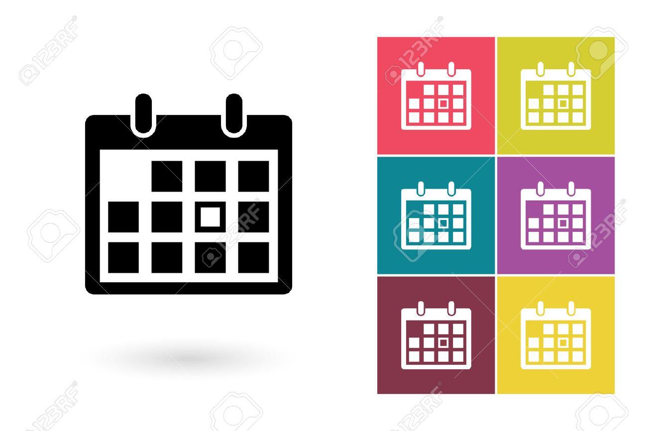 calendar vector icon calendar icon or calendar pictogram for