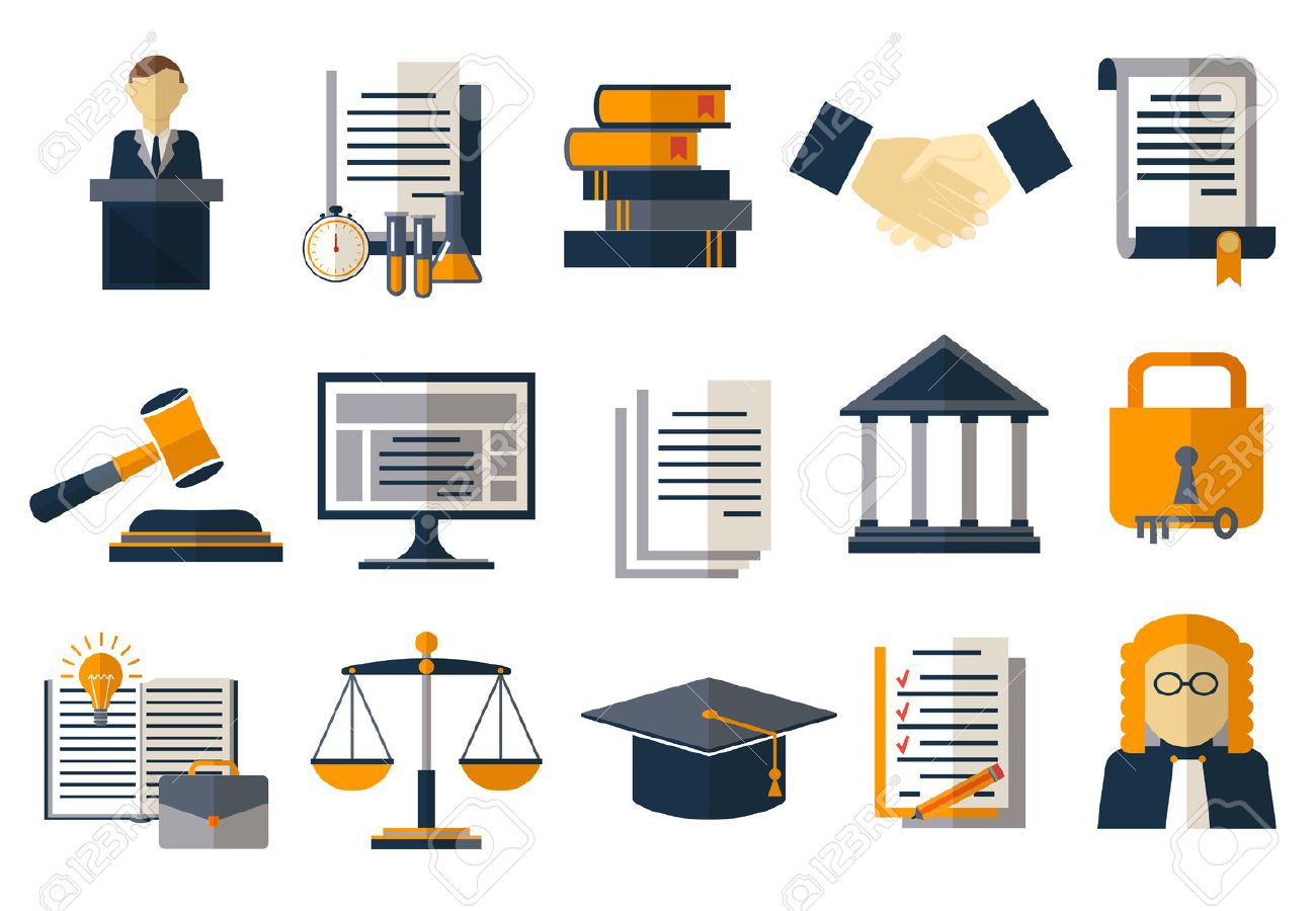 Legal compliance deal protection and copyright regulation. Copyright legal, protection and regulation, regulate compliance agreement, vector illustration - 54596889