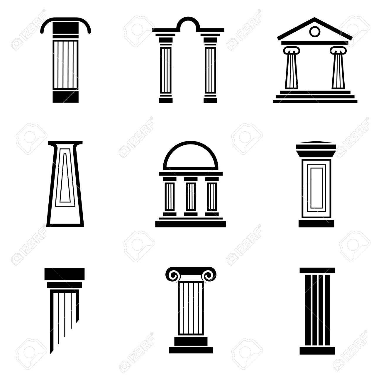 Column Architecture Greek Ancient Roman Antique