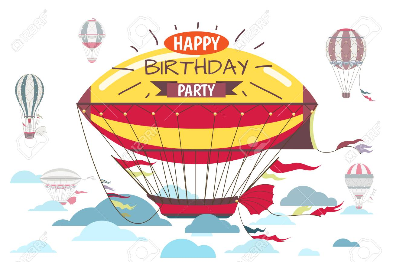 Unique Hot Air Balloon Party Invitations Pictures - Resume Ideas ...