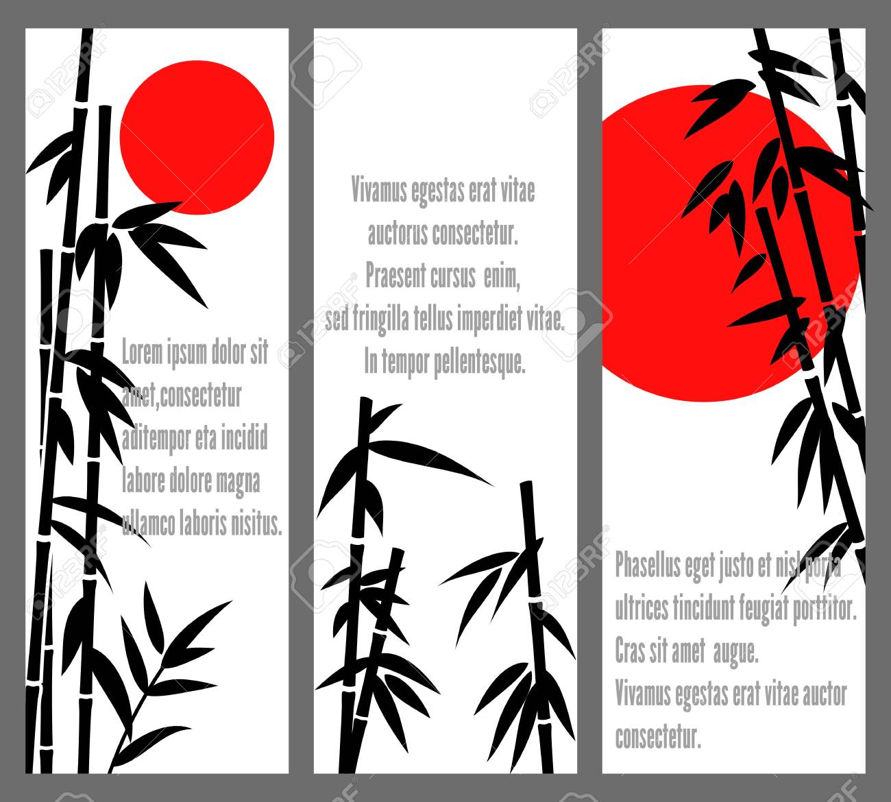 japanese bamboo tree cards design or vector chinese bambu banners royalty free cliparts vectors and stock illustration image 69581608 japanese bamboo tree cards design or vector chinese bambu banners