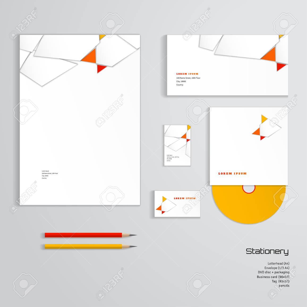 Vector identity templates letterhead envelope business card vector identity templates letterhead envelope business card tag disc with packaging colourmoves