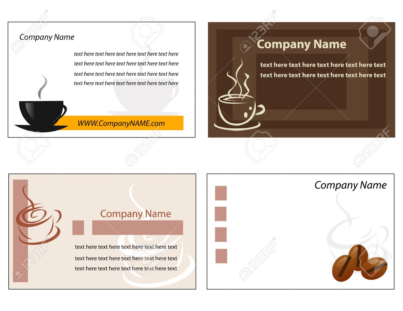 Template designs of menu and business card for coffee shop and template designs of menu and business card for coffee shop and restaurant stock vector 13121611 wajeb Images